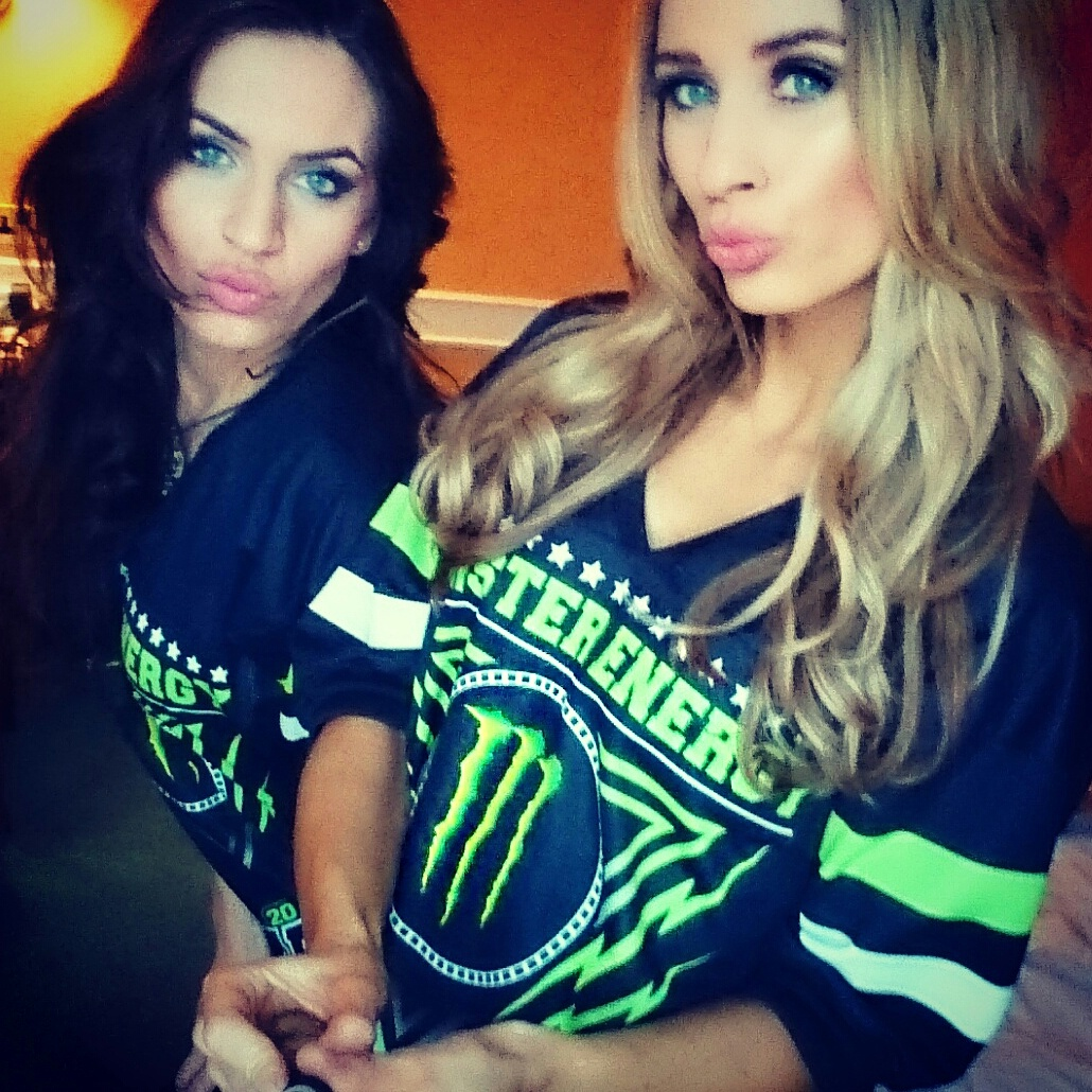 Monster Energy Girls Confernce and Photoshoot 2015 London