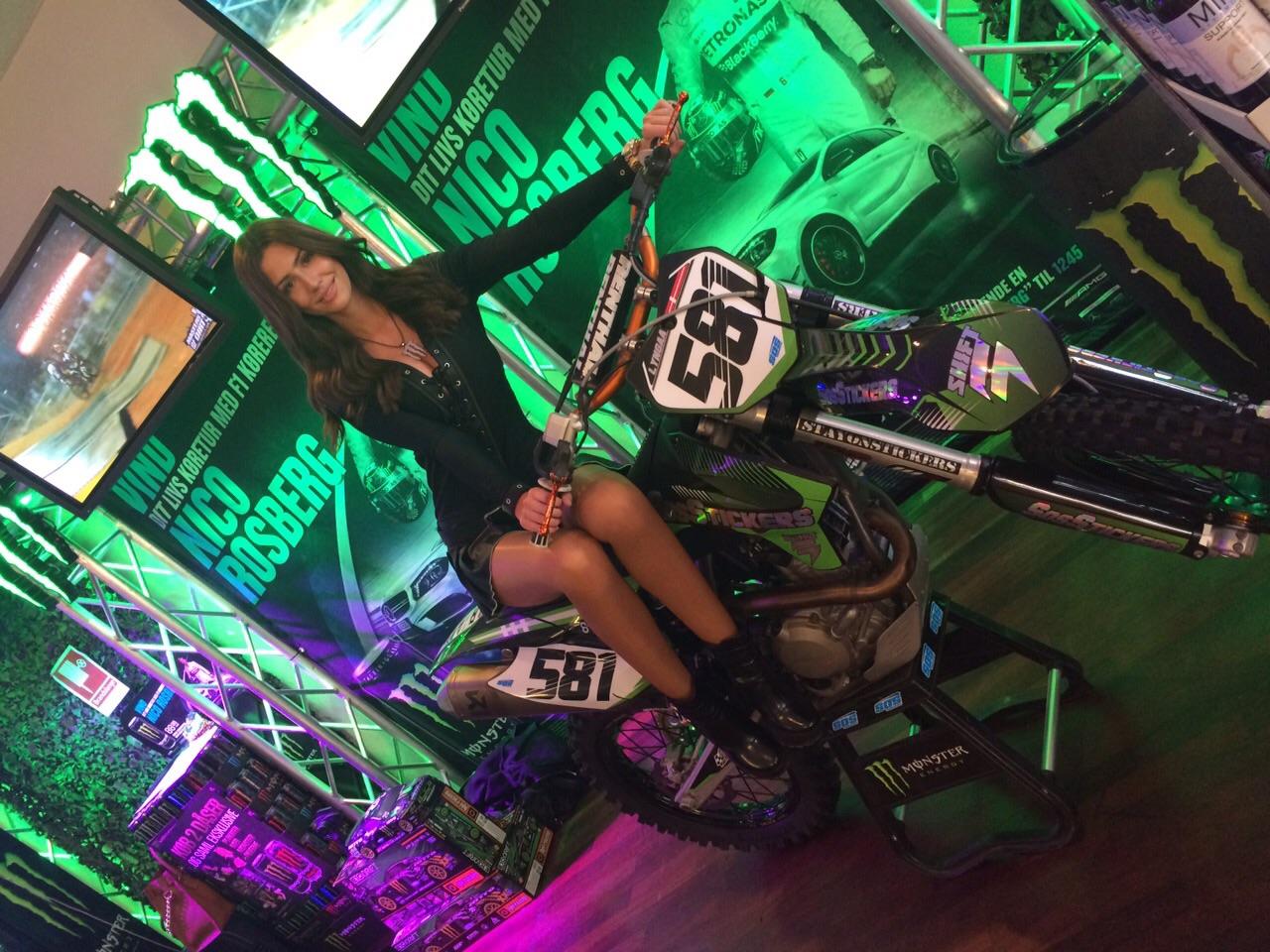 bfi tradeshow kolding denmark monster energy girls monstergirls