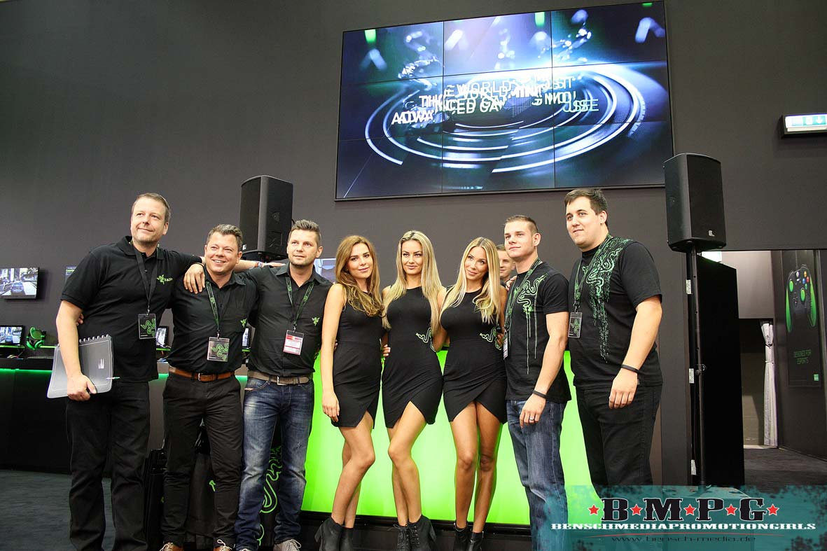 Razer Girls Hostessen IFA Berlin