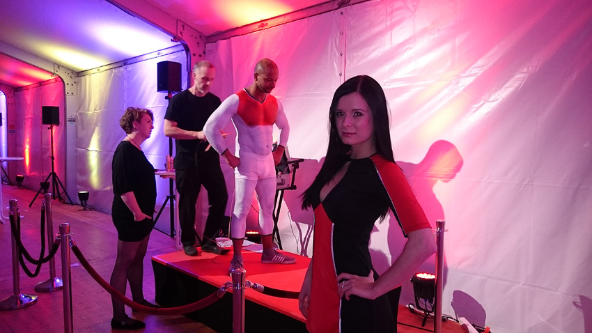 airbrush bodypainting model leipzig sachsen deutschland germany promotion host hostess fullservice agentur bensch media