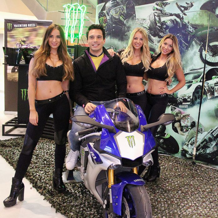monster energy girls essen motorshow 2015 ems monstergirls promotion messe hostessen