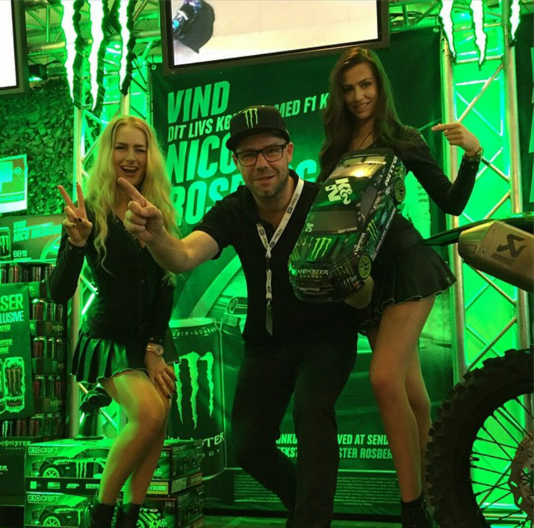 bfi tradeshow kolding denmark monster energy girls monstergirls