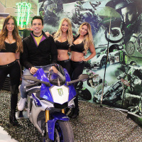 monster energy girls essen motorshow 2015 ems monstergirls promotion messe hostessen
