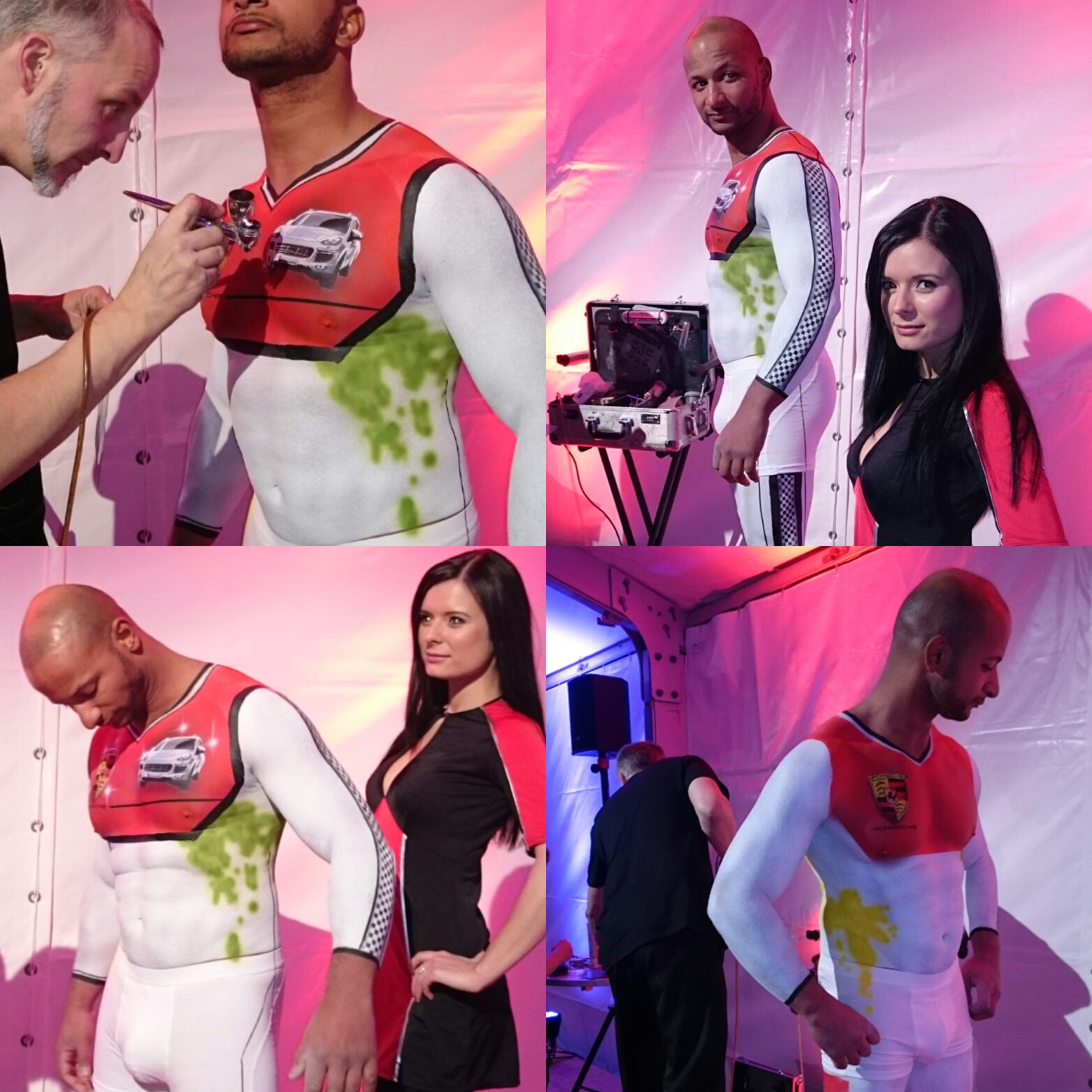 airbrush bodypainting model leipzig sachsen deutschland germany promotion host hostess fullservice agentur bensch media