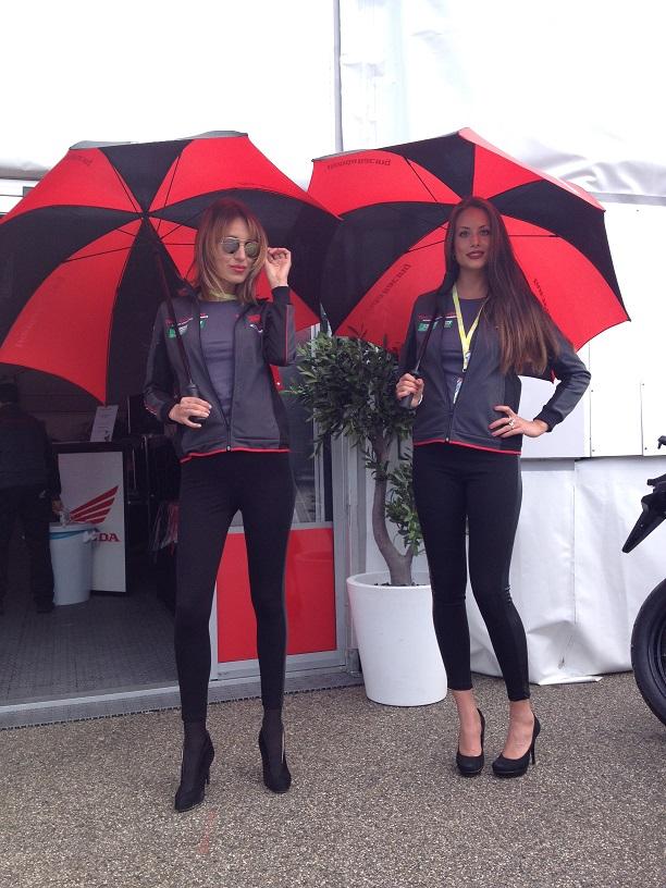 honda world supberbike proracing hondaproracing sbk promotion girld girls lausitzring 2016